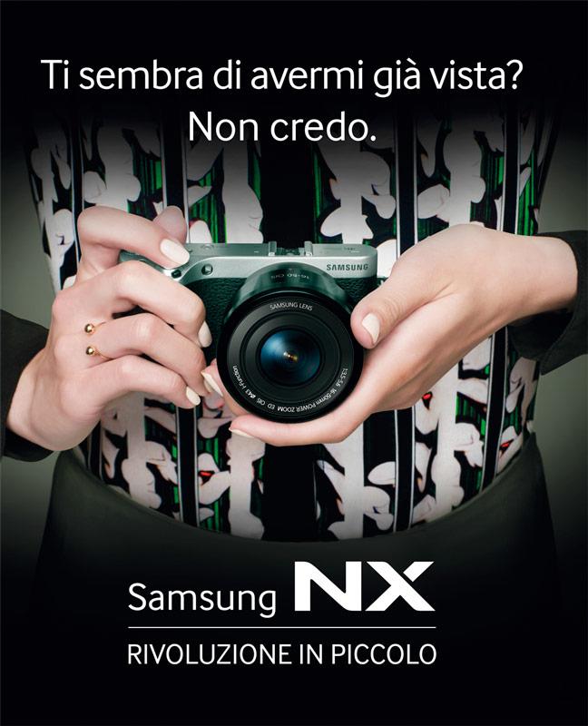Samsung Nx500 atl campaing
