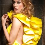 Lola Ponce. Fashion editorial shooting. Milano
