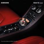 Samsung GEAR s2 Platinum Advertising shooting