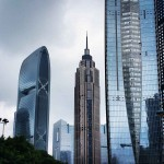 Design-photography. Shanghai buildings.