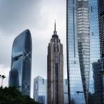 Design-photography. Shanghai buildings.