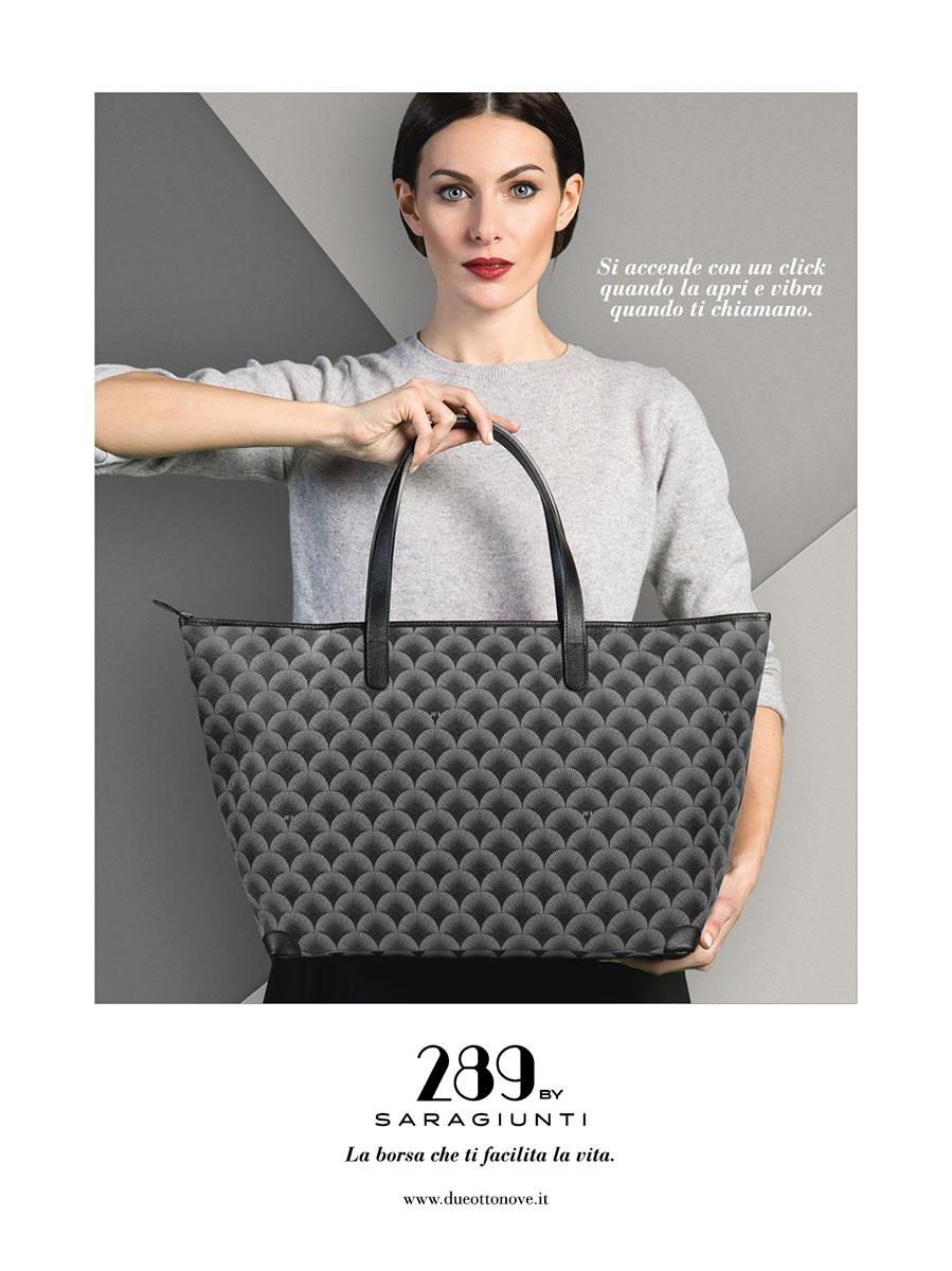 Bags: 289 by Sara Giunti - model: Paola Turani.